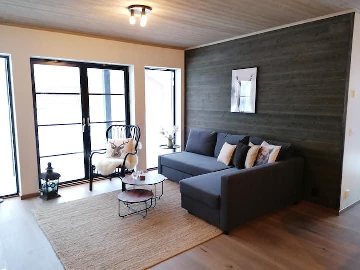 Lägenhet i Lindvallen, Sälen, nära backar och spår