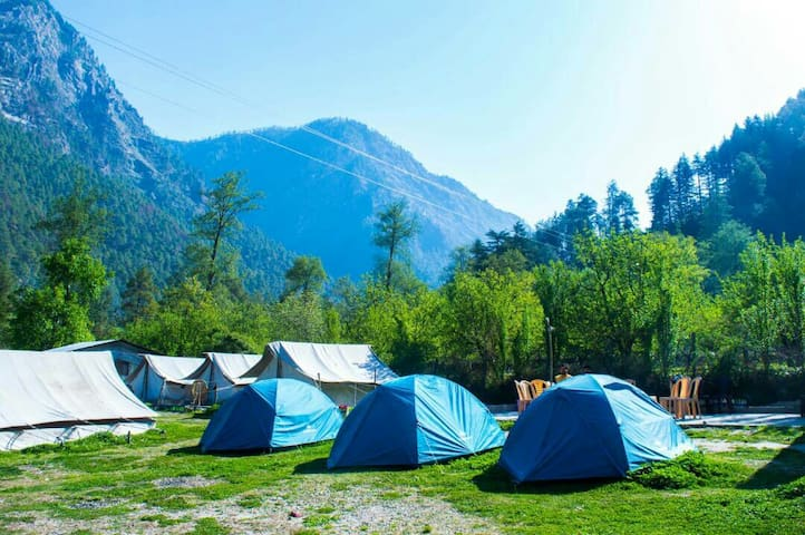 Base Camp Parvati Valley - Kasol - Namiot