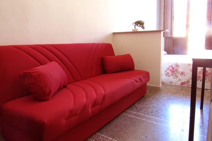 Camera Matrimoniale Deluxe 3 posti letto e cucina