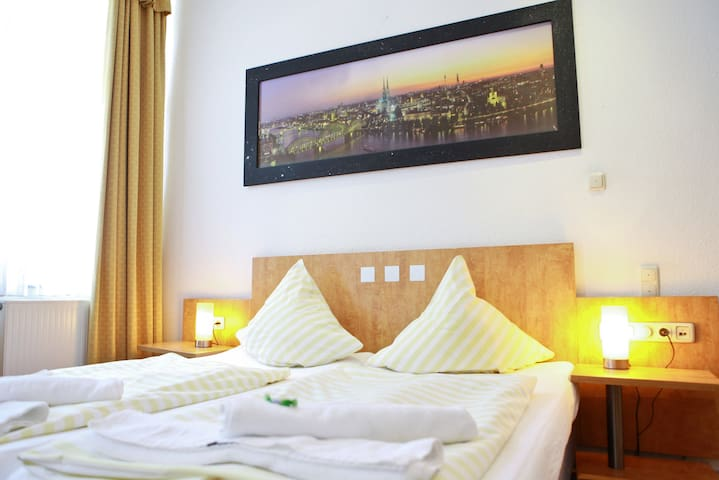 Private Hotelzimmer in der Kölner Neustadt