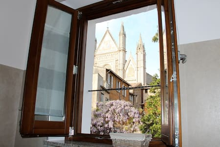 The window on the cathedral -Suite - Orvieto - Apartment