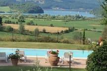 Casa indipendente con piscina e vista sul Mugello