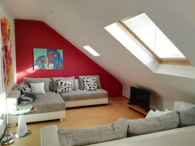Komfortable Wohnung: Geschäftreisende & Familien - Sankt Augustin - Apartament