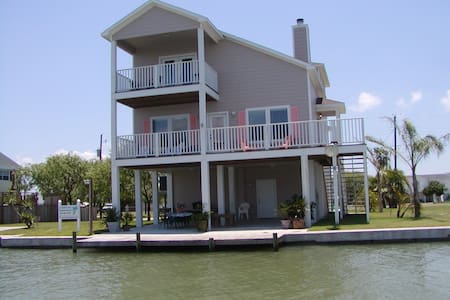 Coastal Class Waterfront Home - Rockport