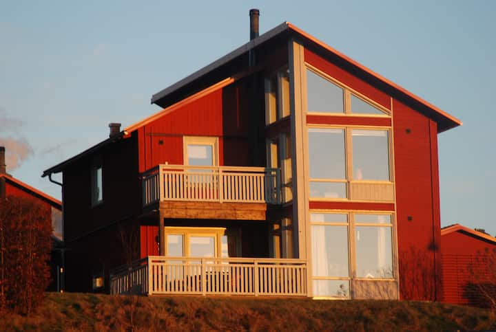 Modern house in the archipelago