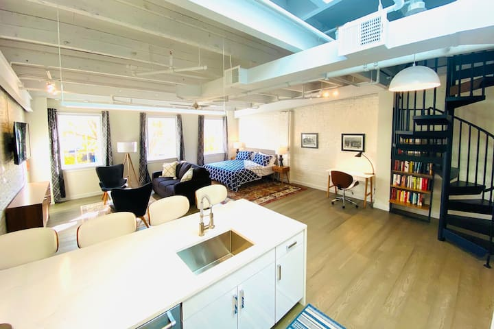 The Riverfront Loft