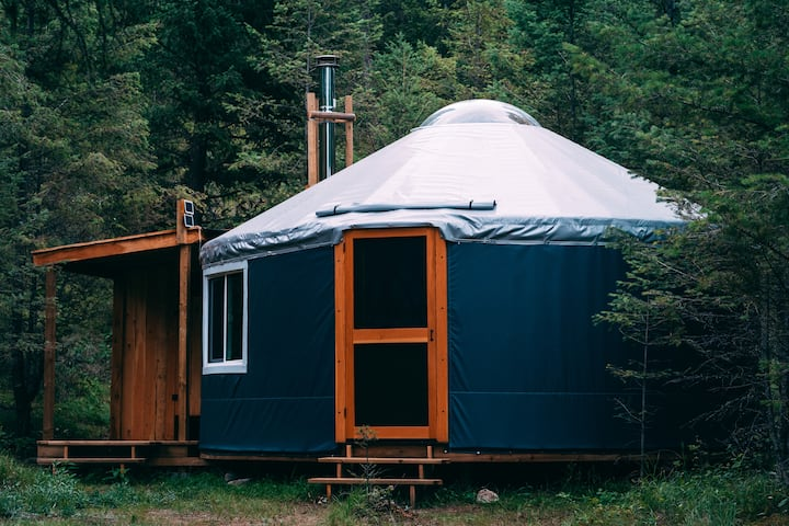 Hike In Yurts @ Radius  - THE DEN