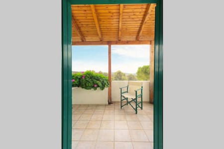 Seaview Apartment with pool in the forest - Rethymno - Gästehaus