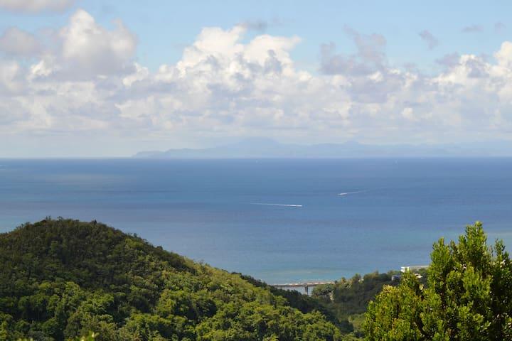 F2 vue sur mer en Résidence