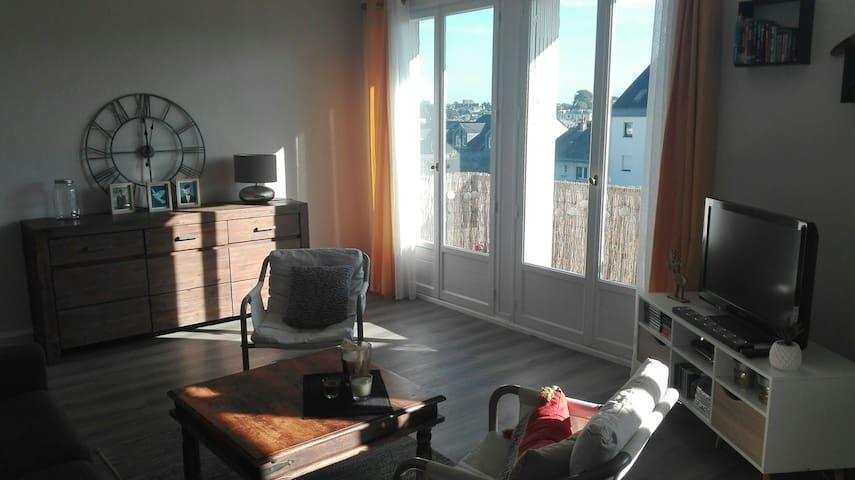 Appartement chaleureux centre ville Laval