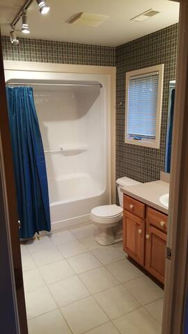 Bathroom #1 off from Master bedroom.