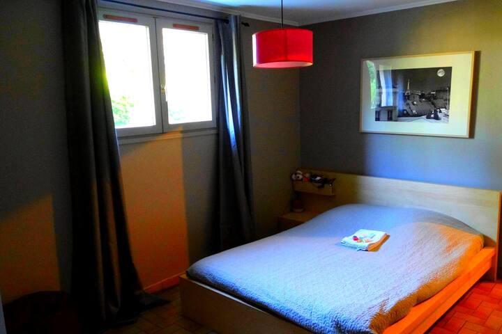Chambre avec kichenette et parking - La Mulatière - Dom