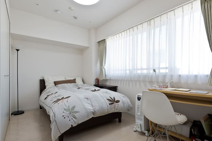 5mins to Sta.confortable Pvt. room - 北区 - Apartament