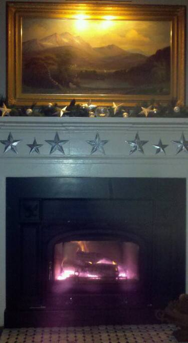 Evenings by the fireplace
