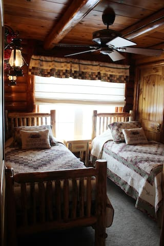 Spare bedroom- Two twin Beds