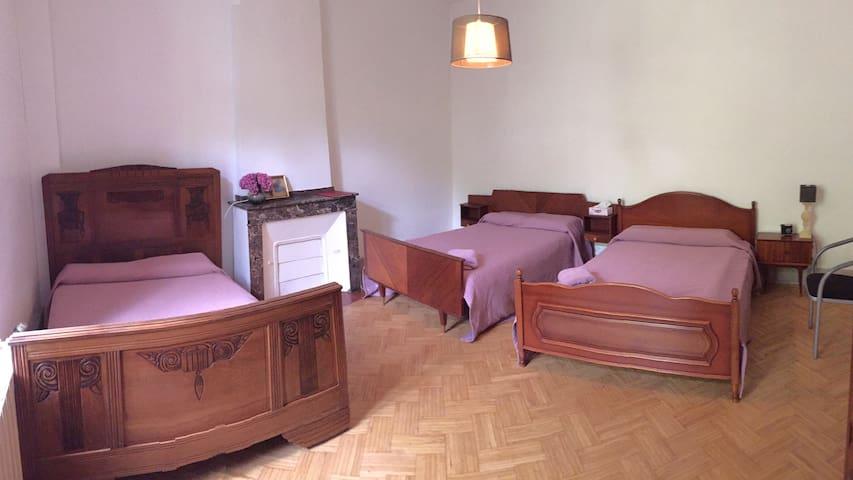Chambre d'hôtes avec 3 lits - Saint-Amans-Soult - Bed & Breakfast
