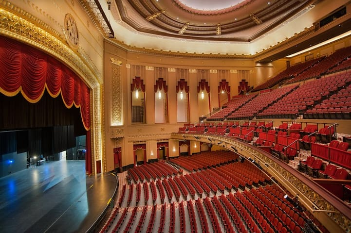 An interior view of Peabody Auditorium. Incredibly beautiful architecture and amazing performances!