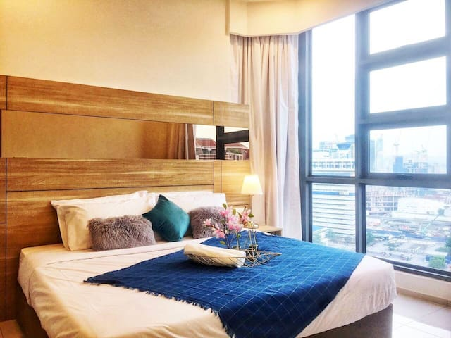 Lucky 7pax3bedroom KL city center Family Suite
