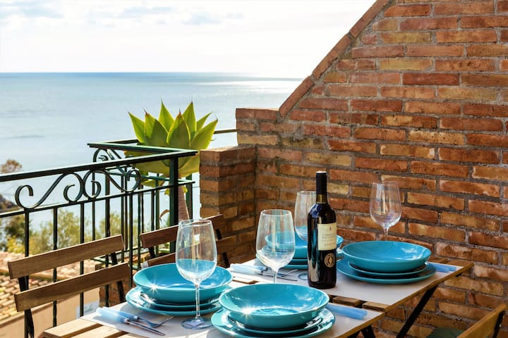 Penthouse aan zee met een spectaculair uitzicht