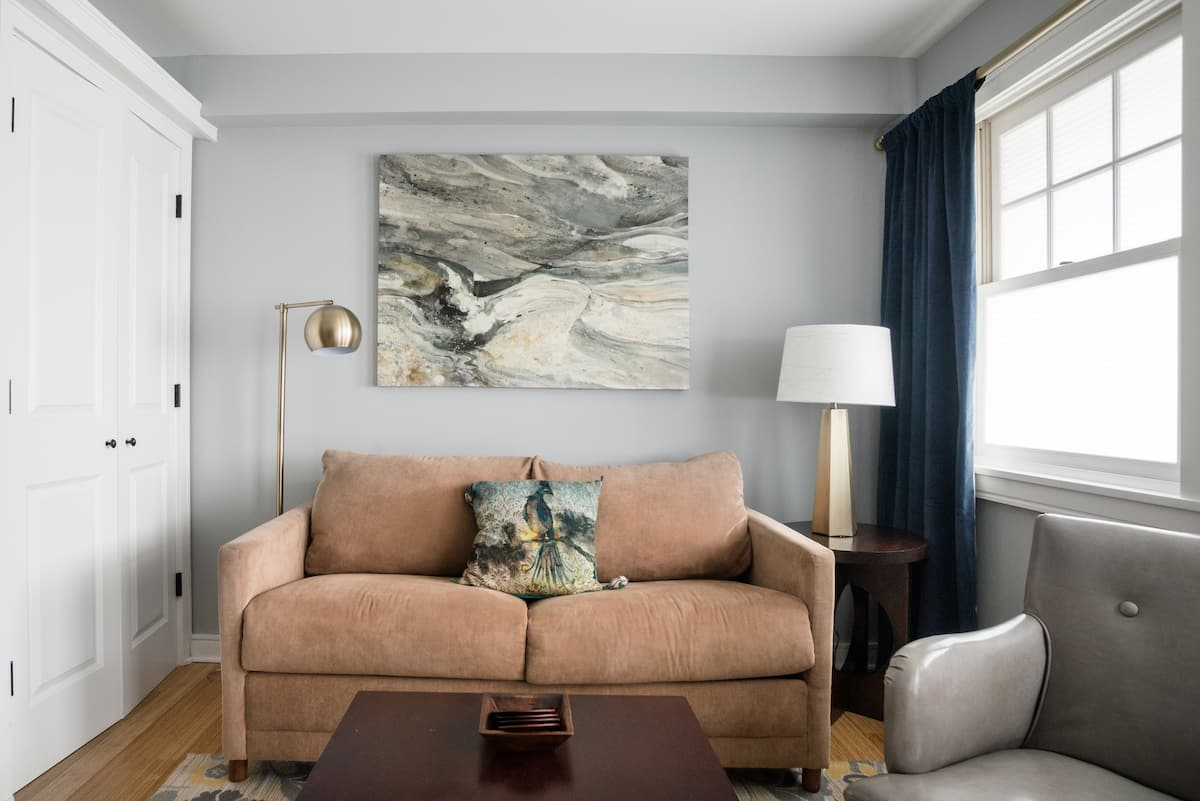 Curated Art-Inspired Condo Oasis