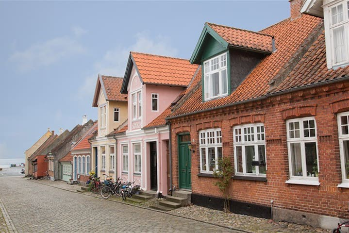 Charming house in the middle of Ærøskøbing