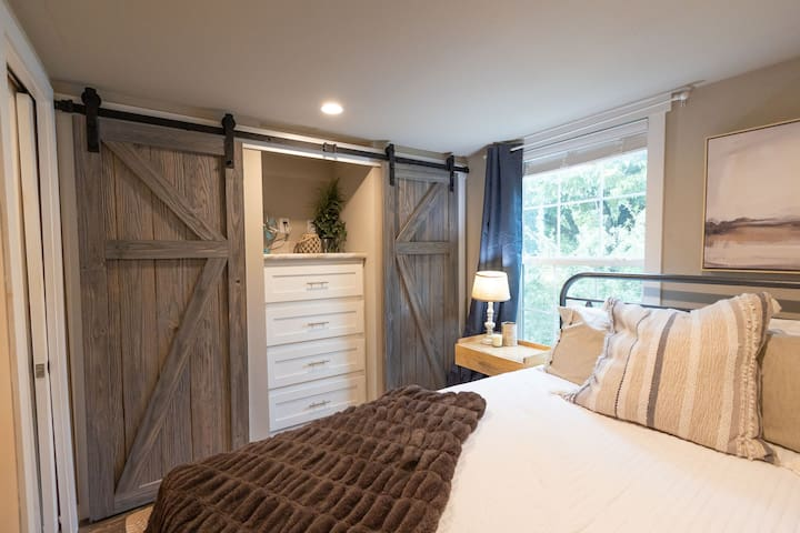 Comfortable and cozy master bedroom