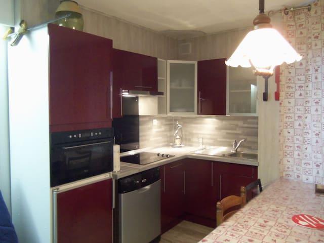TRES JOLI STUDIO PIED DE PISTES - Orcières - Apartament