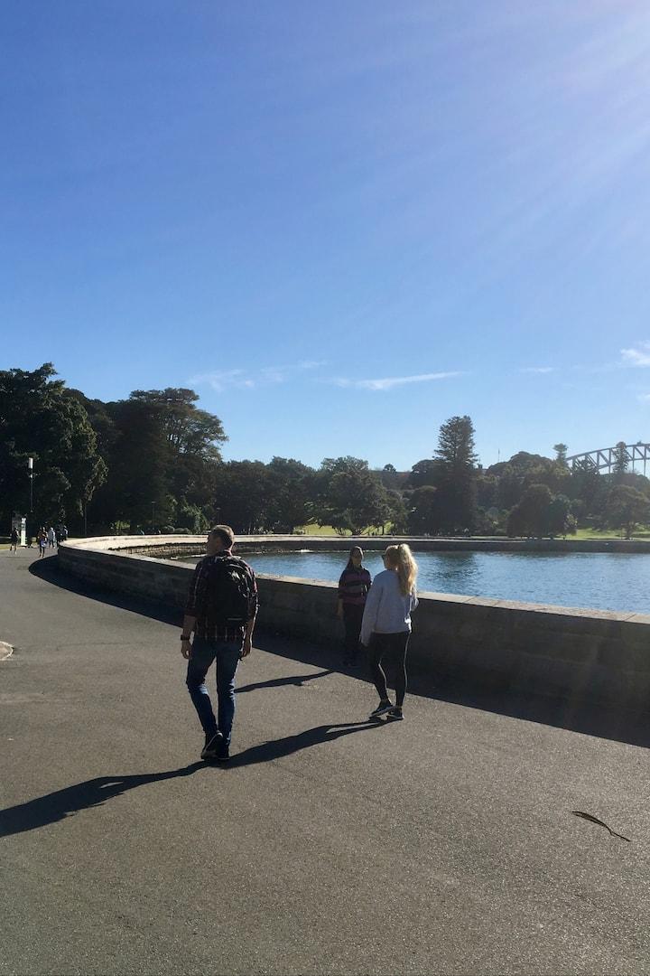 Nice stroll along the promenade