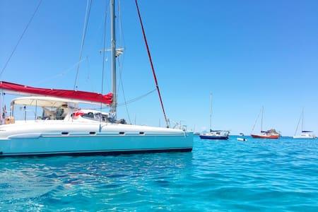 Welcome on board Cataja - Gustavia