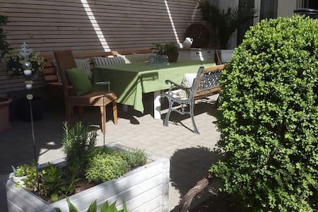 Charmante Studiowohnung mit Garten im Stadtzentrum - Bregenz - Διαμέρισμα