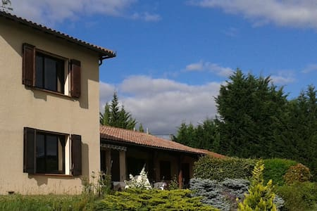 Suite-restful place, unspoiled nature/pool - Montbrun-Bocage - Bed & Breakfast