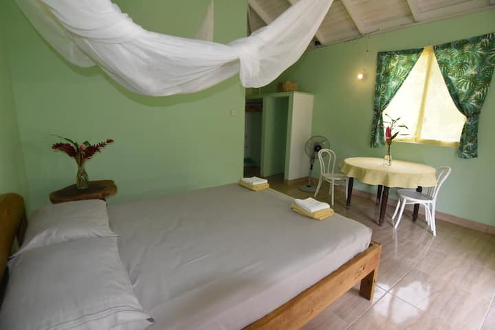 Soufriere Guesthouse - Private en-suite queen room