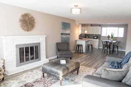 Beautifully updated home with finished basement