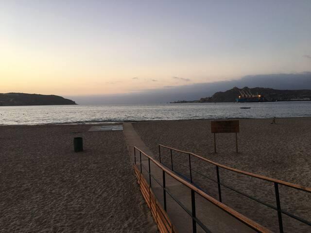 International Guest House next to Playa Herradura