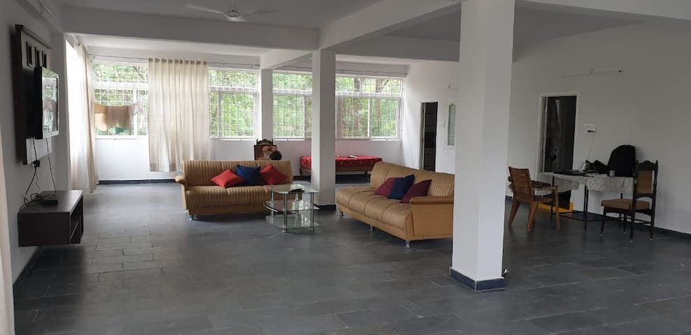 Extremely spacious, airy 2bhk, near HYD airport