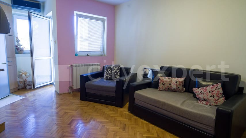 Studio/Flat in Novi Sad, Podbara for 3 persons