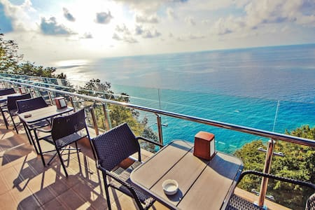 Mountain & Sea View Modern Couple Stay in Sarpi