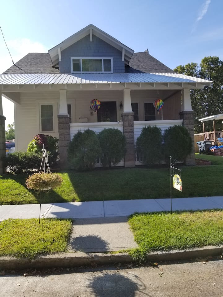 fully renovated Craftsman  home welcomes you