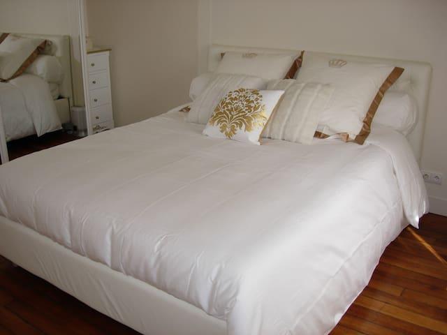 Chambre/Bedroom 15m² @Paris - Paris - Daire