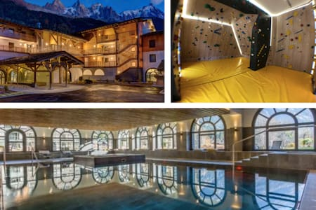 Superb cosy 5* SPA swimming pool: the Matterhorn