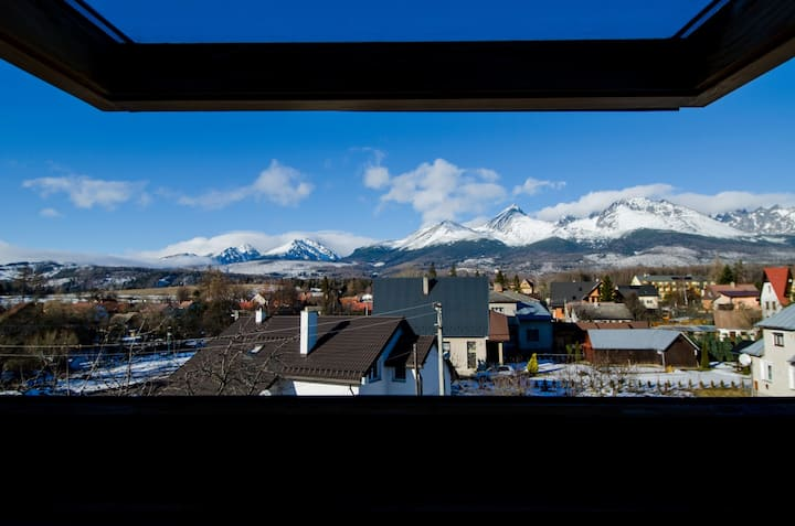 Amazing view APARTMENT ANNA Štôla High Tatras