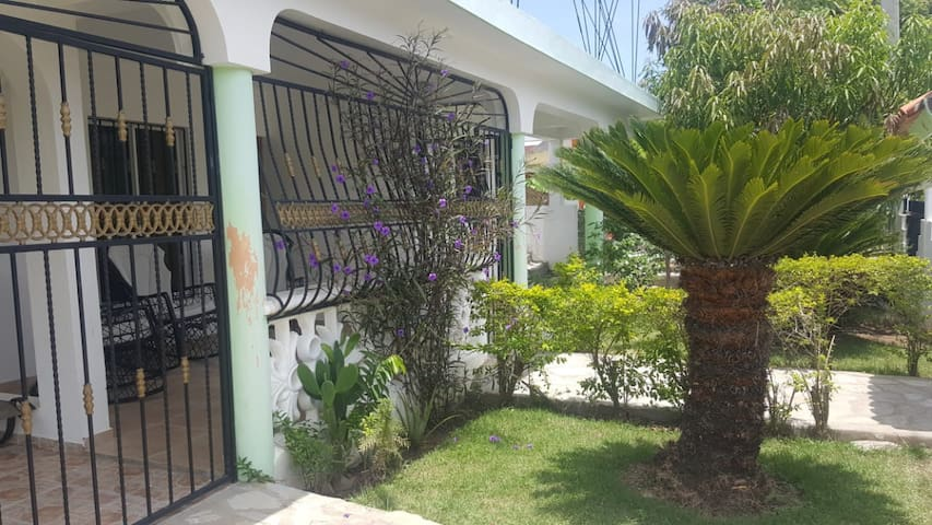 Nice four-bedroom villa about 5min from Cabarete