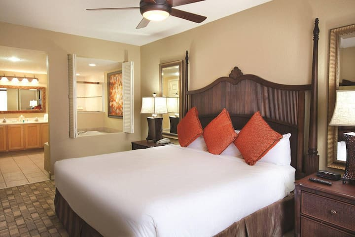 Two bedroom Deluxe at Wyndham Palm Aire Resort
