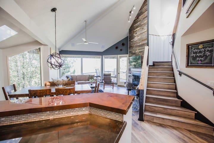 Luxury and Modern Mount Bachelor Village Condo