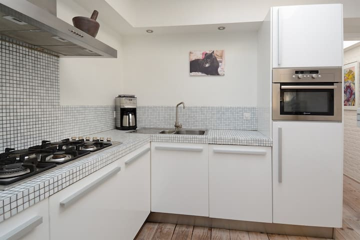 Unique loft apartment 30min by train to Amsterdam - Hilversum - Apto. en complejo residencial
