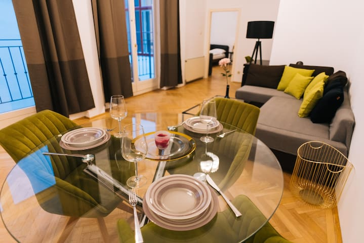 Apartment in the heart of Vienna (Sing 18, Top 2)