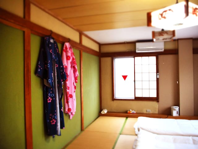 Mt. Fuji view! Japanese-style single room A205