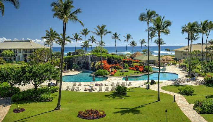 Kauai Beach Resort 4th Flr Ocean View. Fun for All