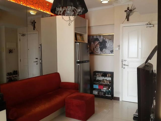 2 in 1 Bedroom Apartment in front Pakuwon Mall