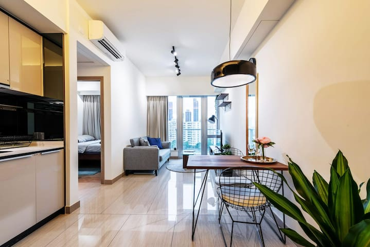 Luxury Private Room Above Nam Cheong MTR